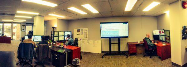 Chinook Geosteering Room