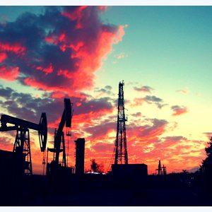 Sunset rig